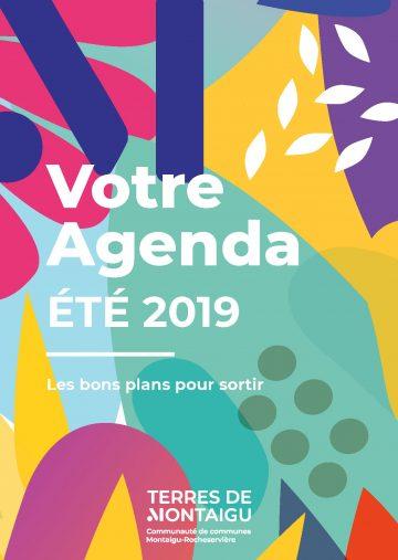Visuel : couverture - Agenda Été 2019 - Terres de Montaigu
